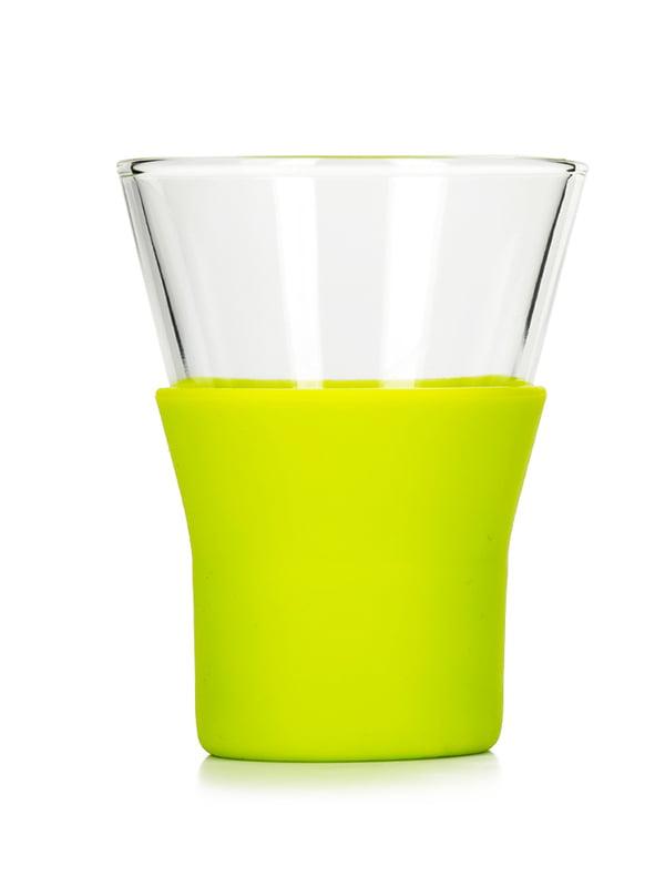Склянка для капучино з кольоровою резинкою (220 мл) | 5117248