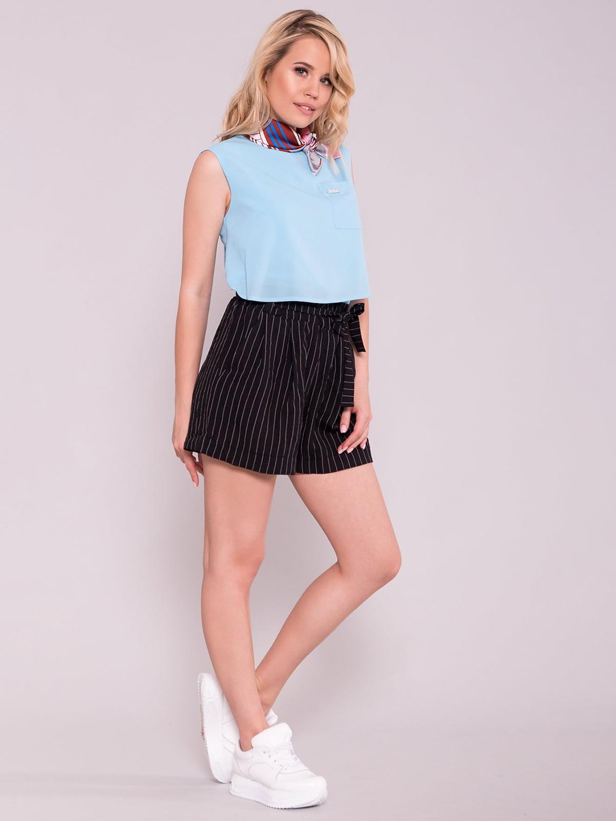 Блуза блакитна | 5094807