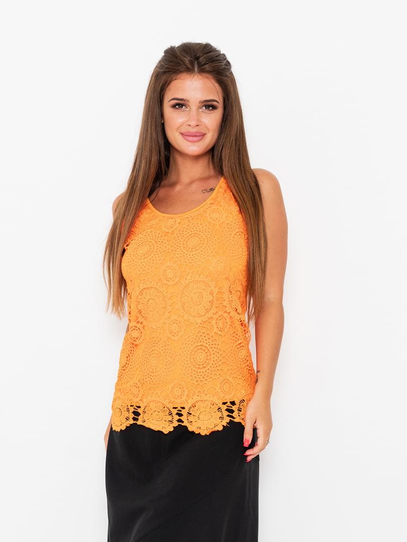 Майка оранжевая | 5118032
