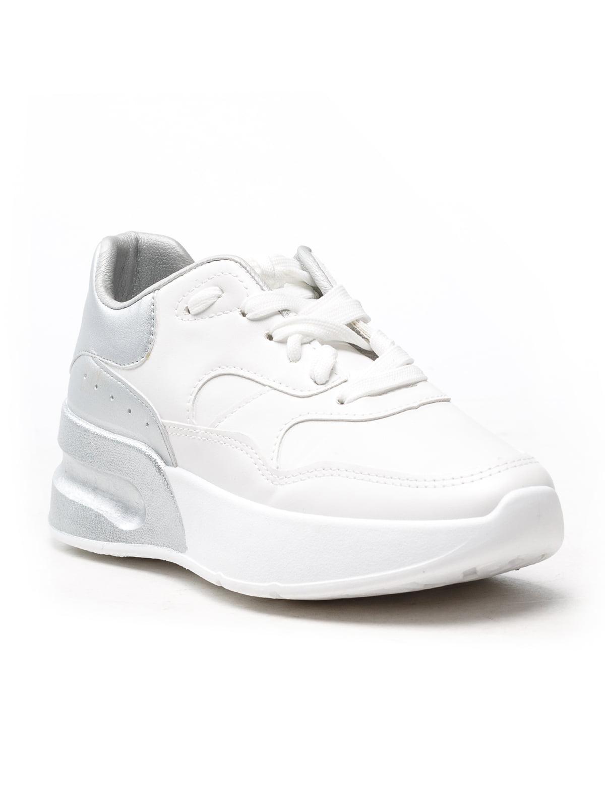 Кроссовки бело-серые | 5118072