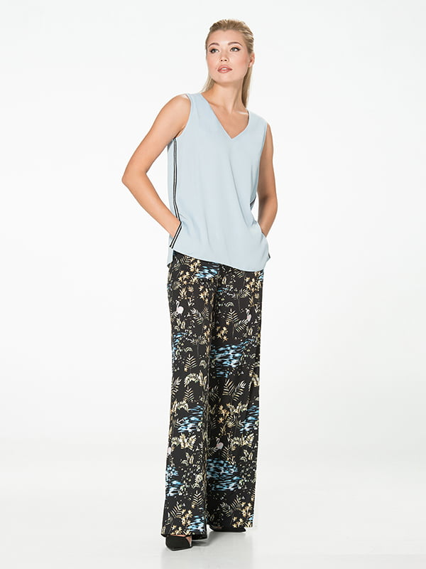 Блуза блакитна | 5115746