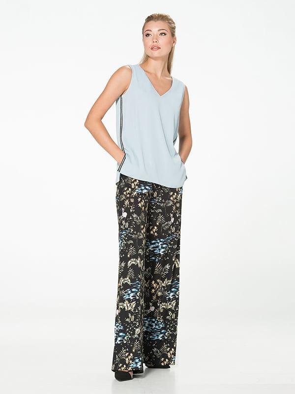 Блуза голубая   5115746
