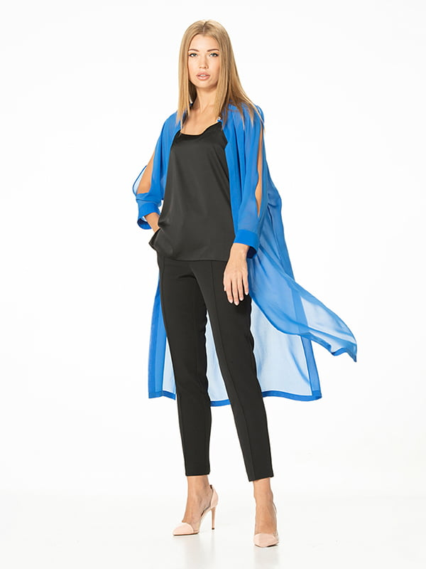 Кардиган-рубашка синий | 5115865