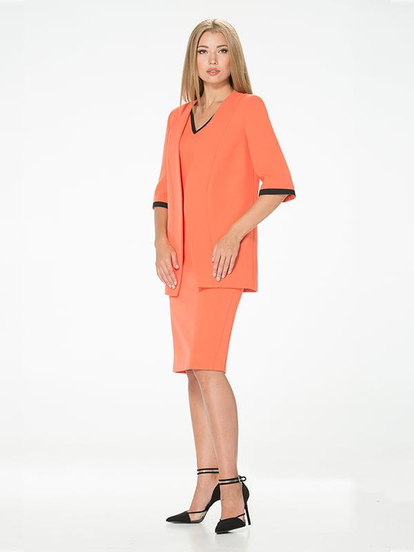 Жакет помаранчевого кольору | 5115893