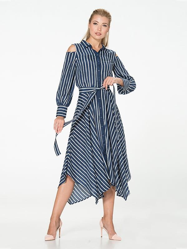 Платье синее   5115914