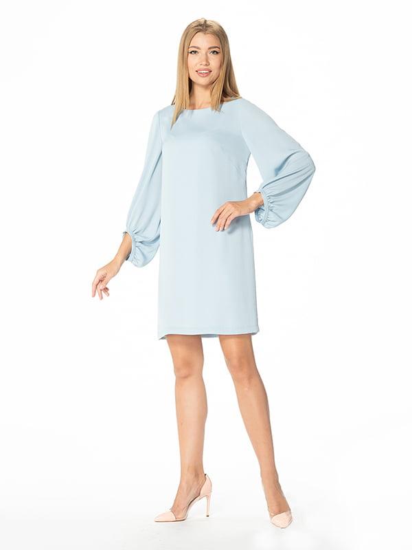 Платье голубое | 5115932