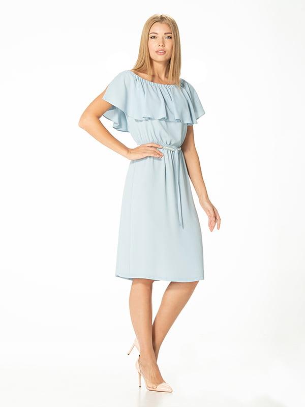 Платье голубое | 5115940