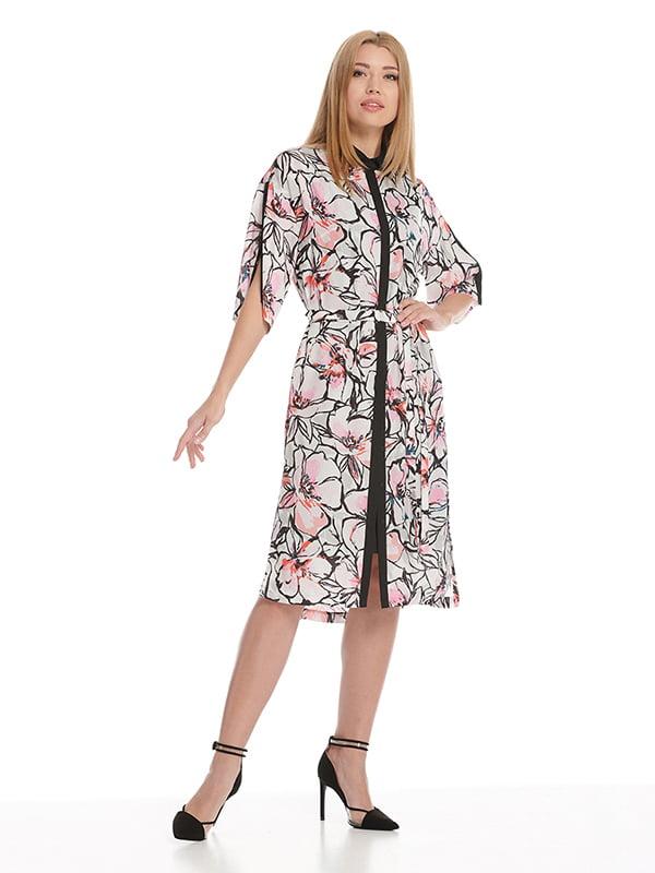 Платье  цветочный принт   5115943