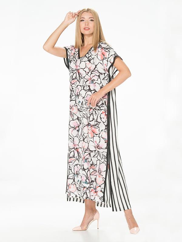 Сукня комбінованого забарвлення | 5115944