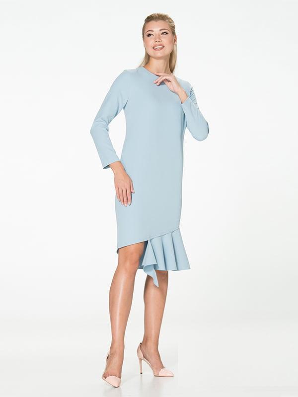 Платье голубое | 5115949