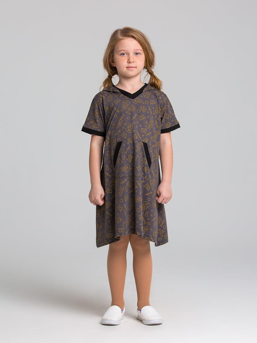 Платье серое | 5124709