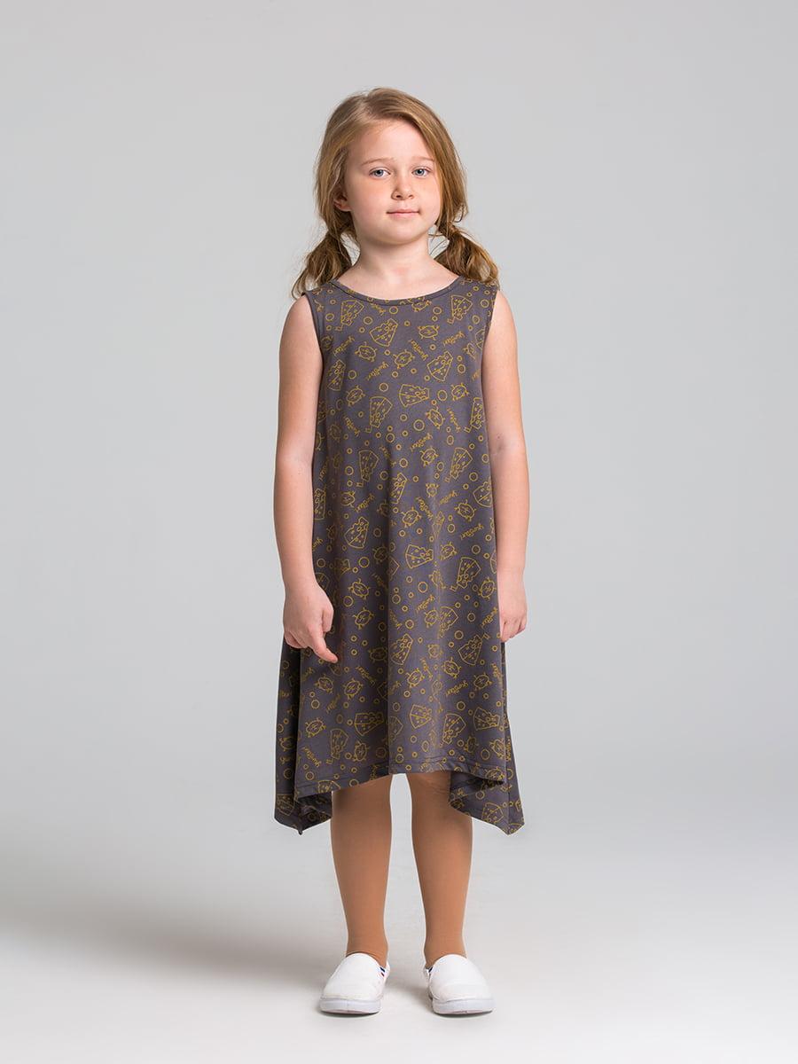 Платье серое | 5124710