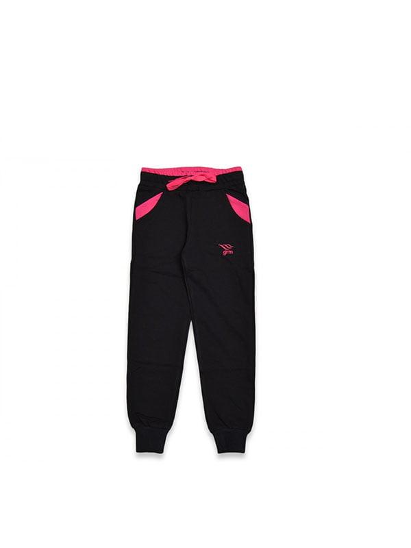Штани чорні спортивні | 5125968