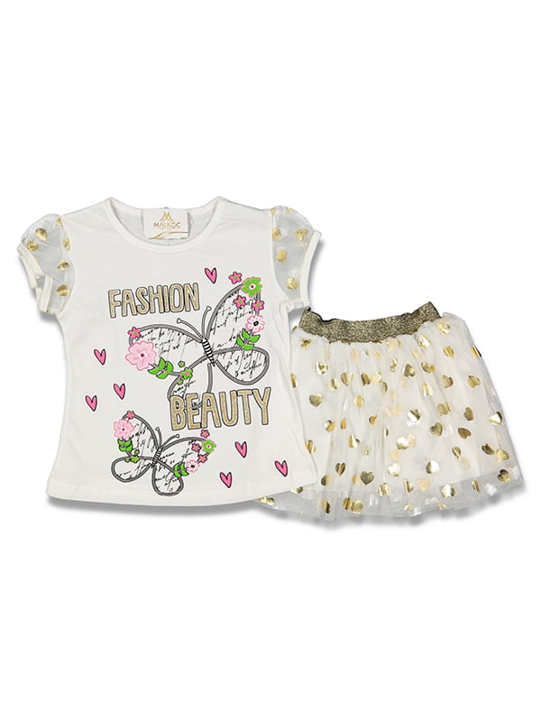 Комплект: футболка і спідниця | 5126001