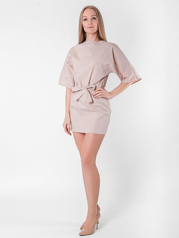 Платье бежевое | 5126120
