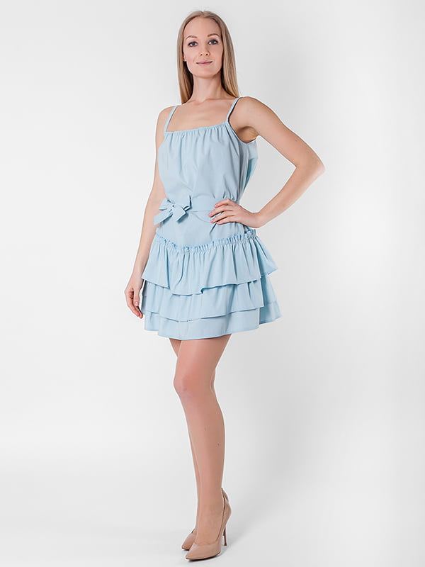 Платье голубое | 5126124
