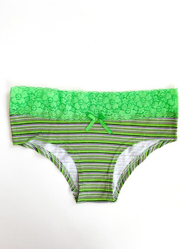 Труси зелені в смужку | 5107466