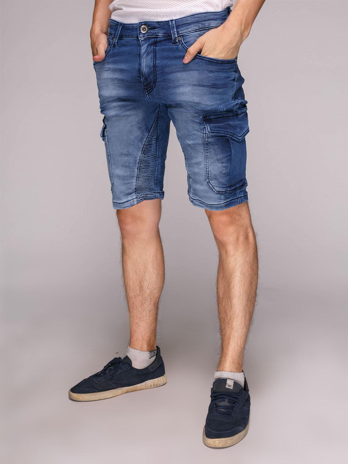 Шорты синие джинсовые | 5113930