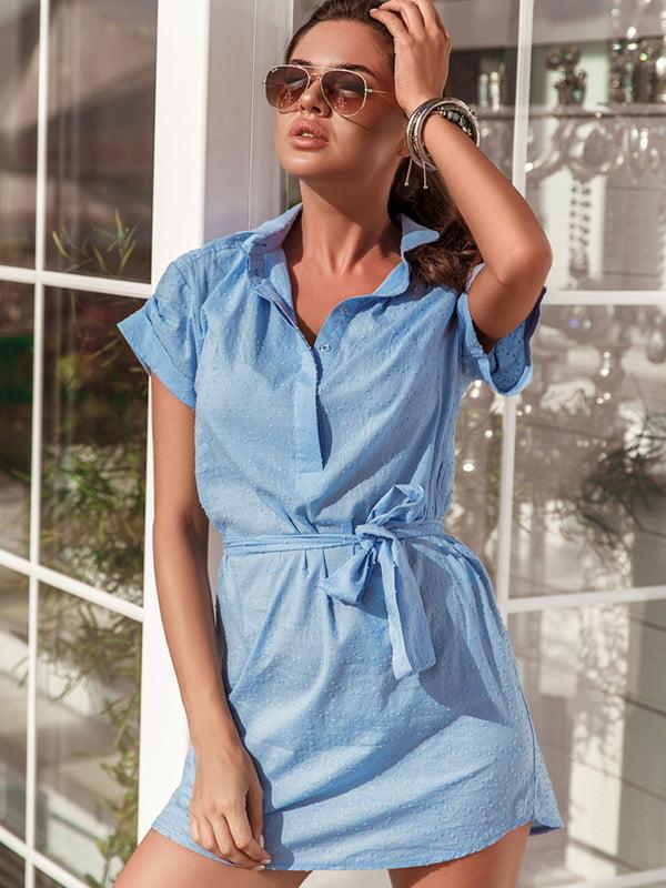 Платье голубое   5128769