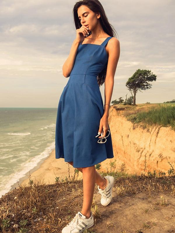 Платье синее | 5128770