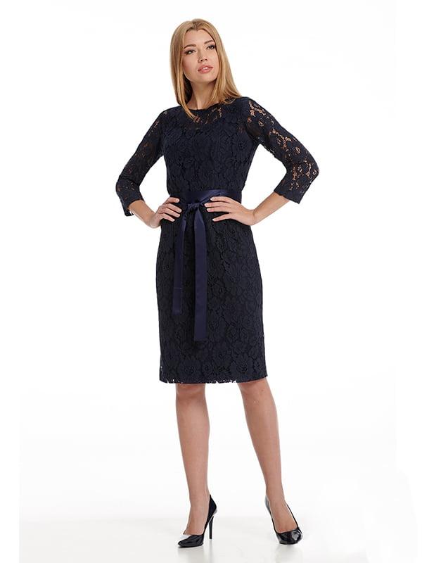 Платье синее | 5109784
