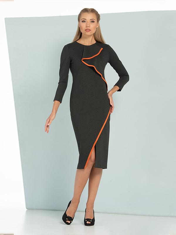 Платье серое | 5109807