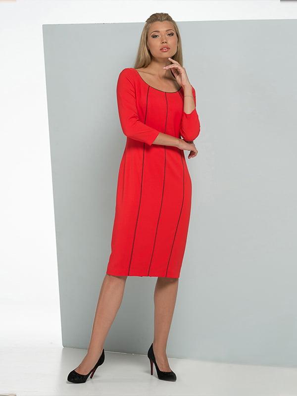 Платье красное | 5109812