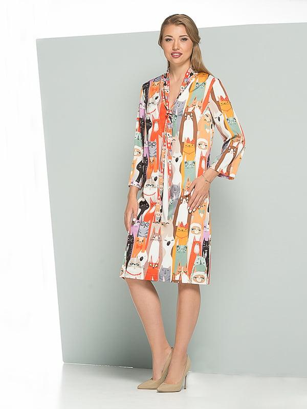 Платье в принт | 5125129