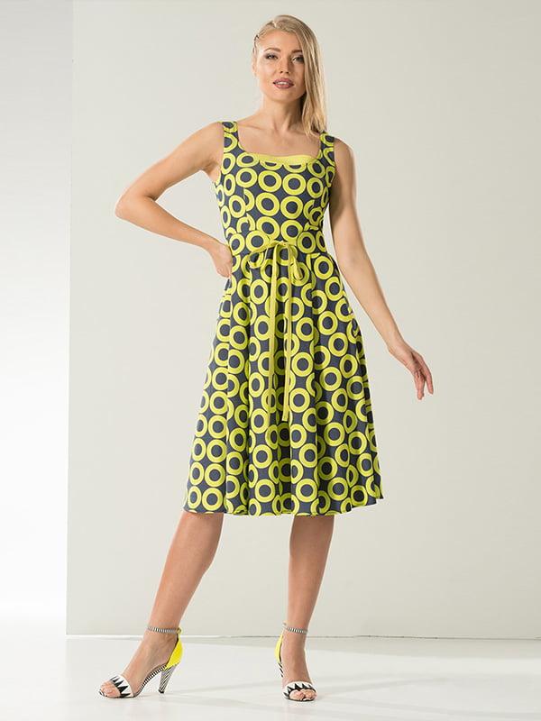 Платье в принт | 5125140