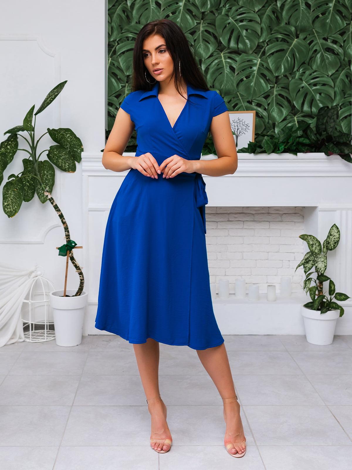 Платье синее | 5133956