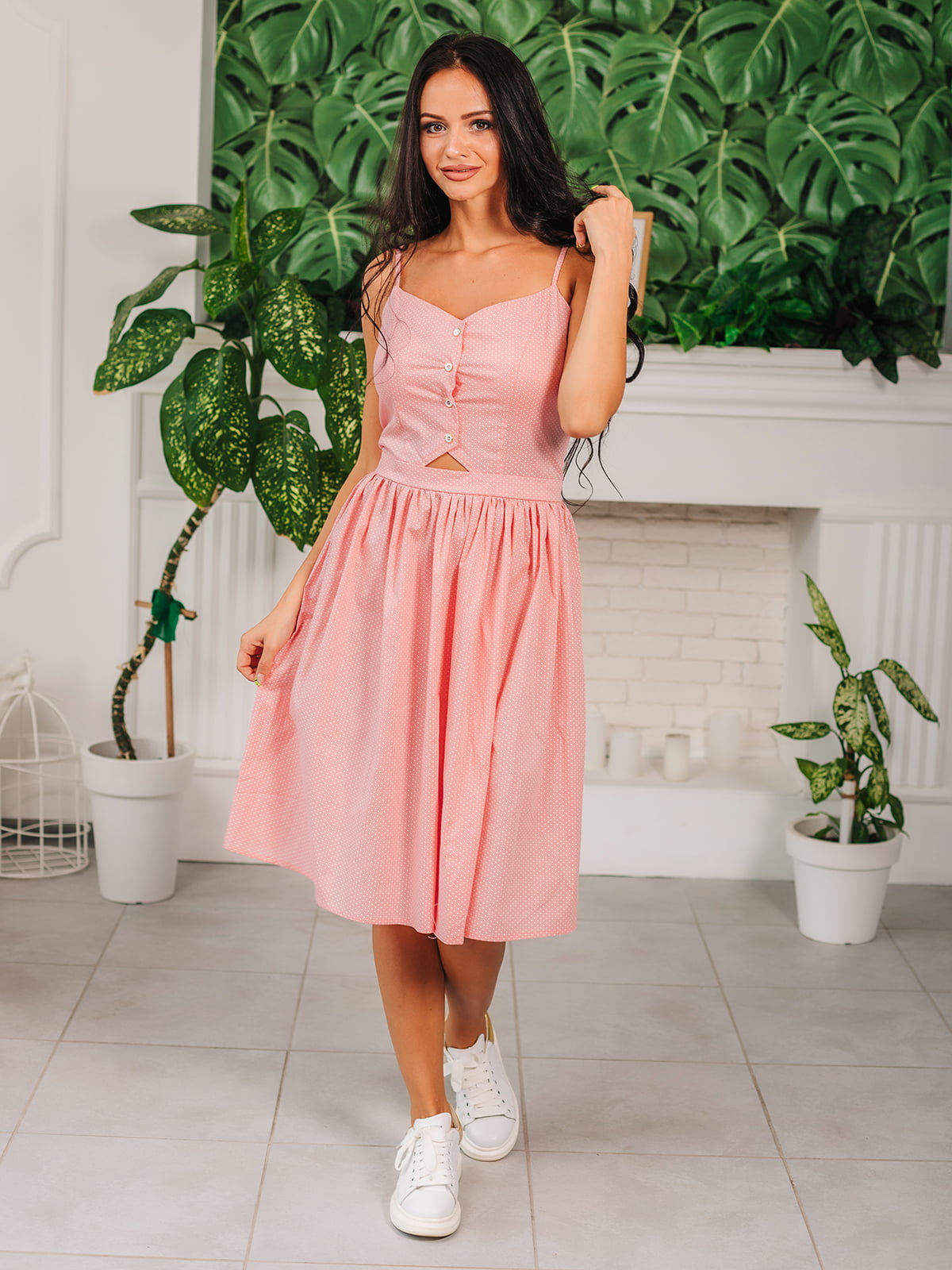 Сарафан розовый | 5133965