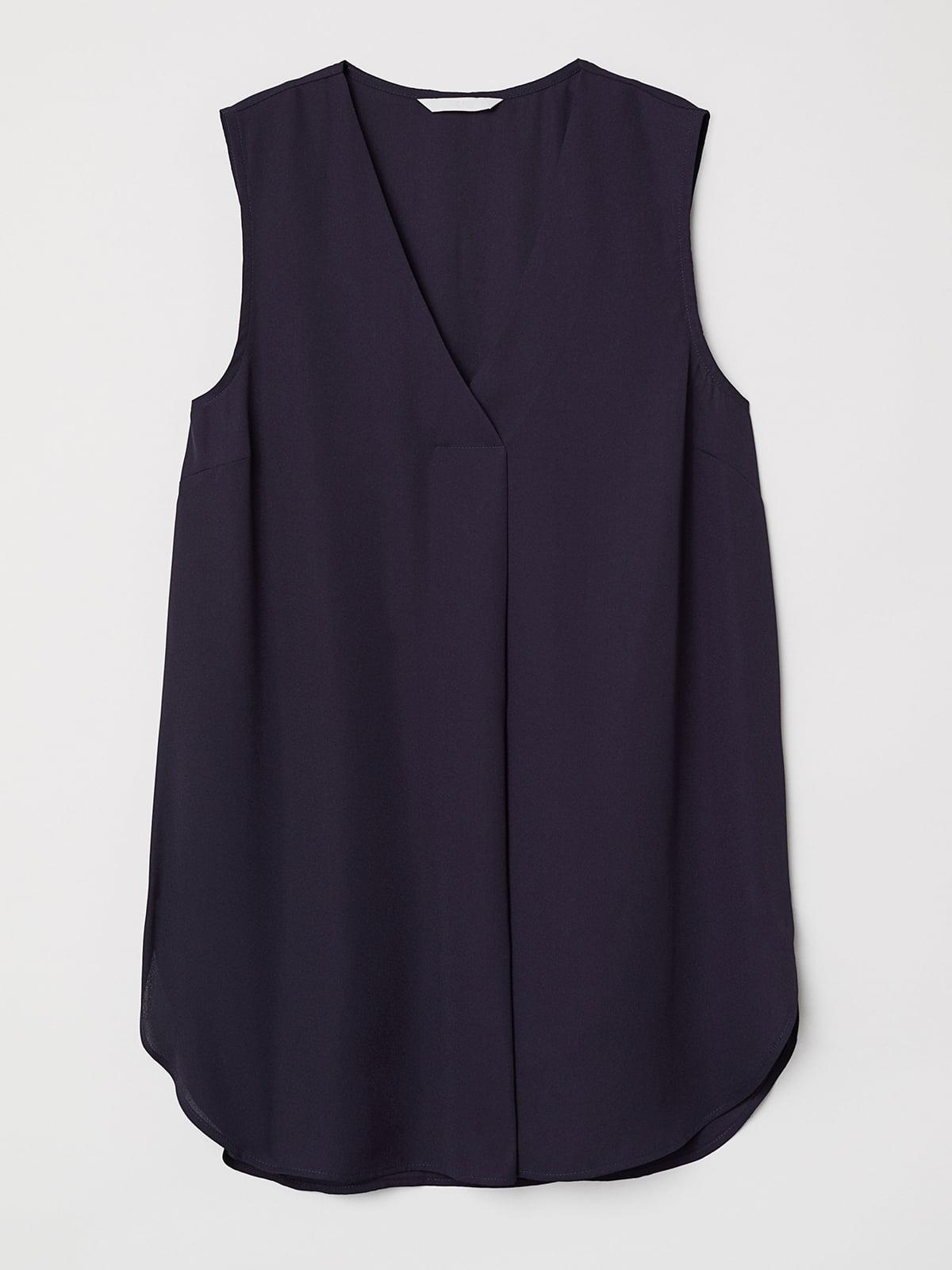 Блуза синяя   5093719