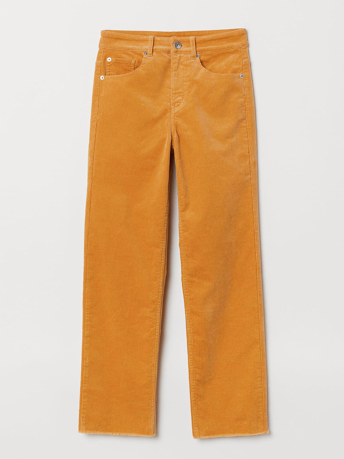 Брюки желтые | 5093781