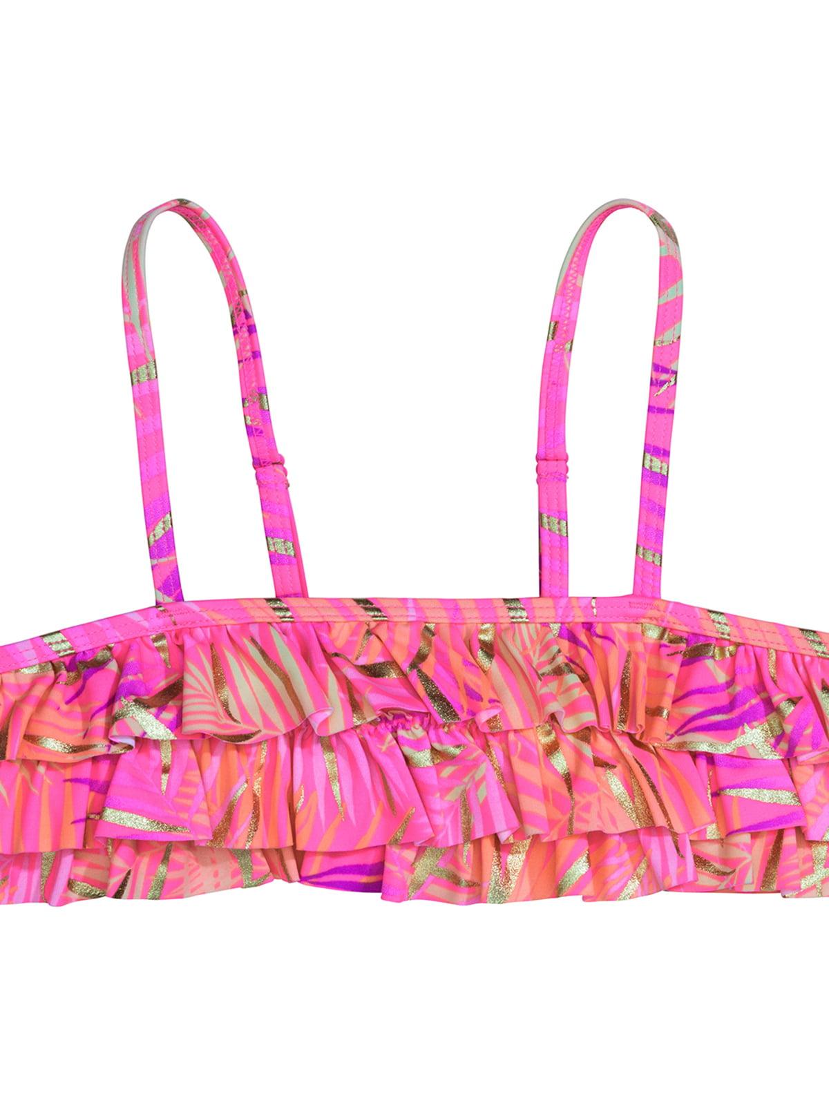Ліф рожевий з принтом купальний   5135718