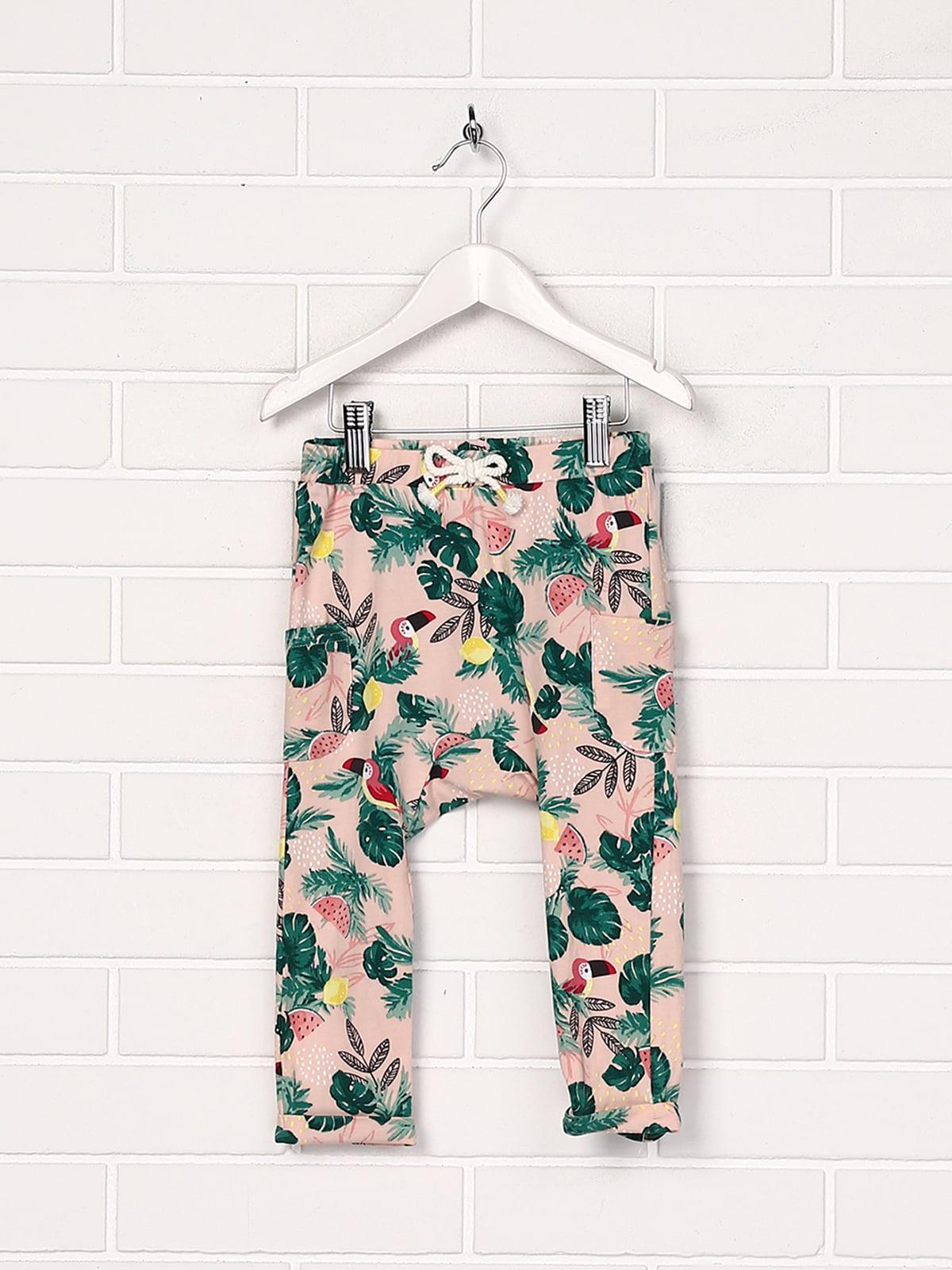 Штани рожево-зелені   5135066