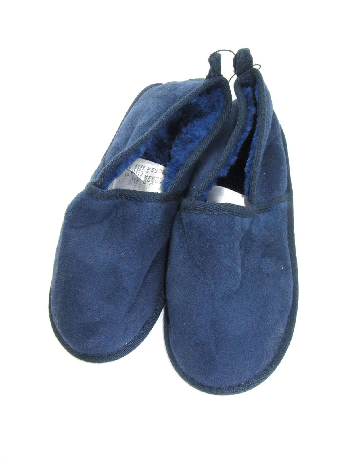 Тапочки темно-синие | 5135290