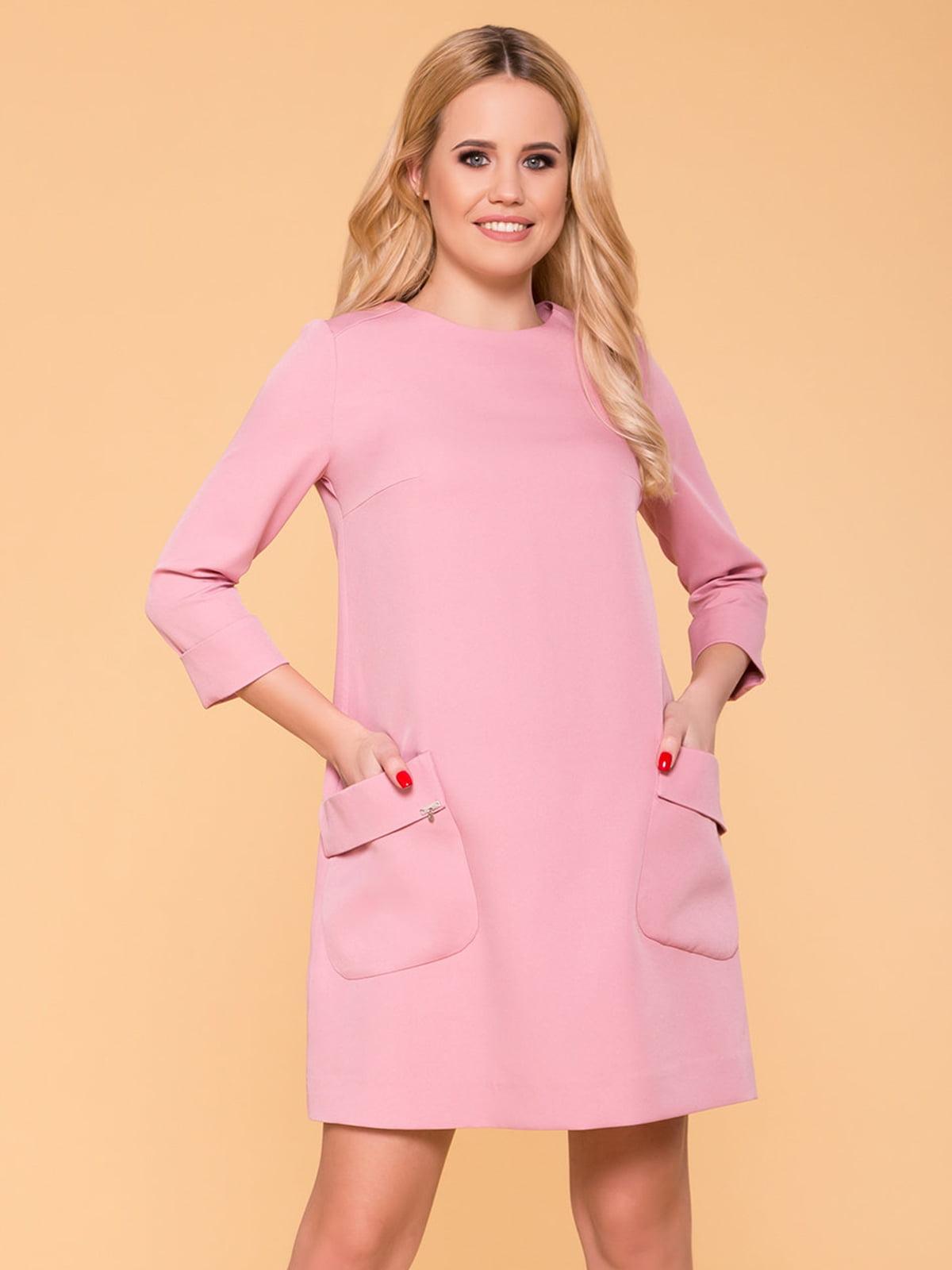 Сукня кольору пудри | 4912549