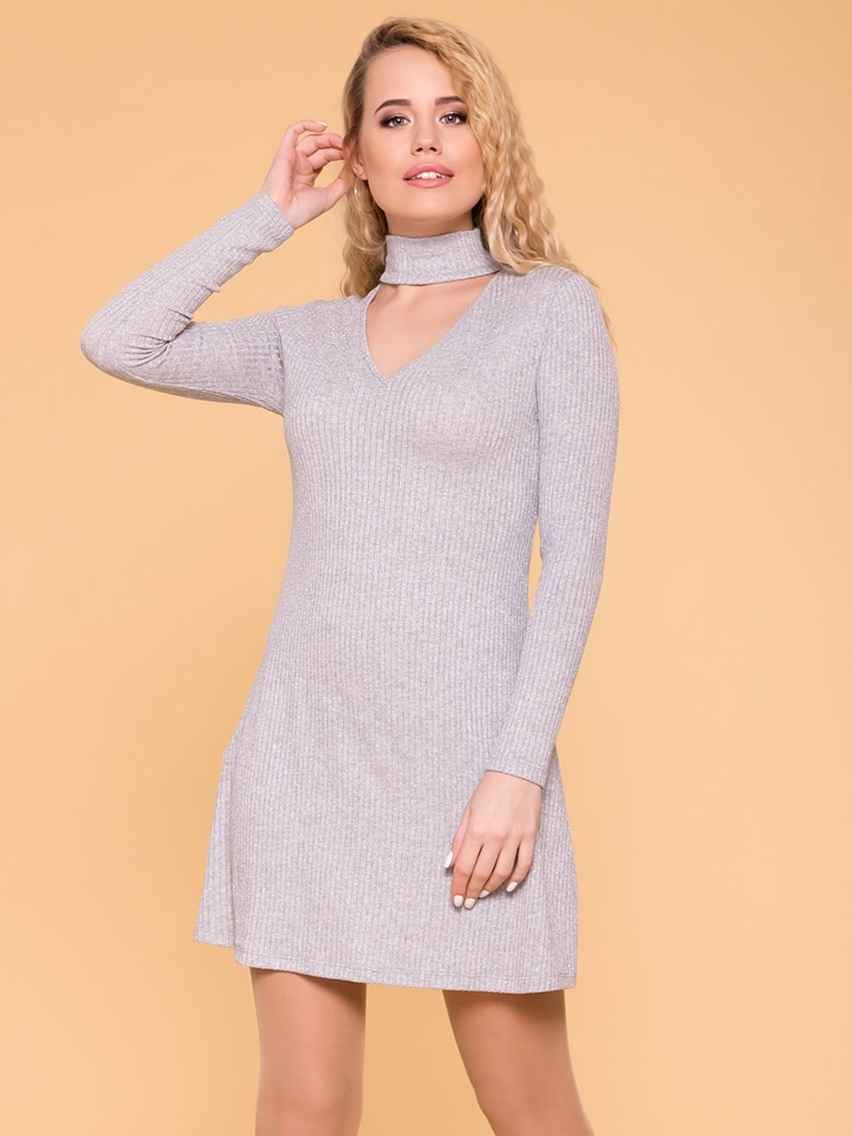 Сукня сіра | 4958441
