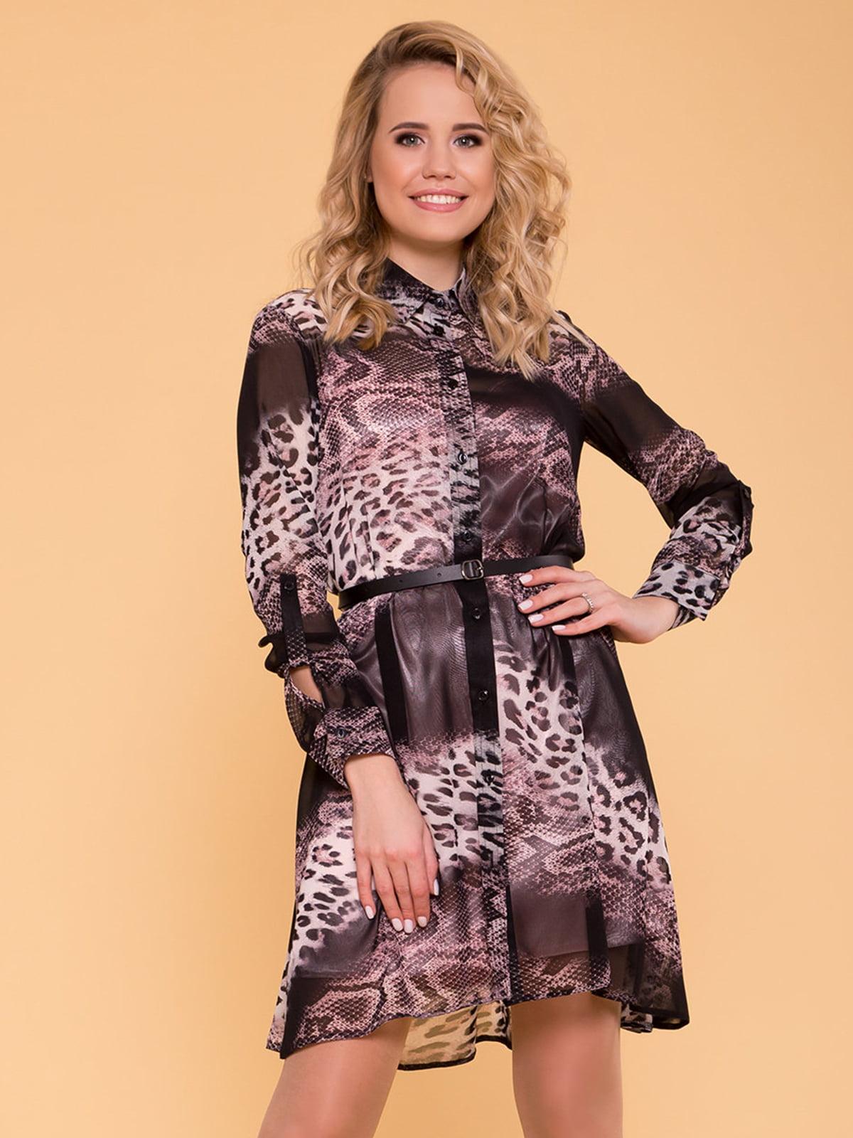Сукня комбінованого забарвлення | 4977613