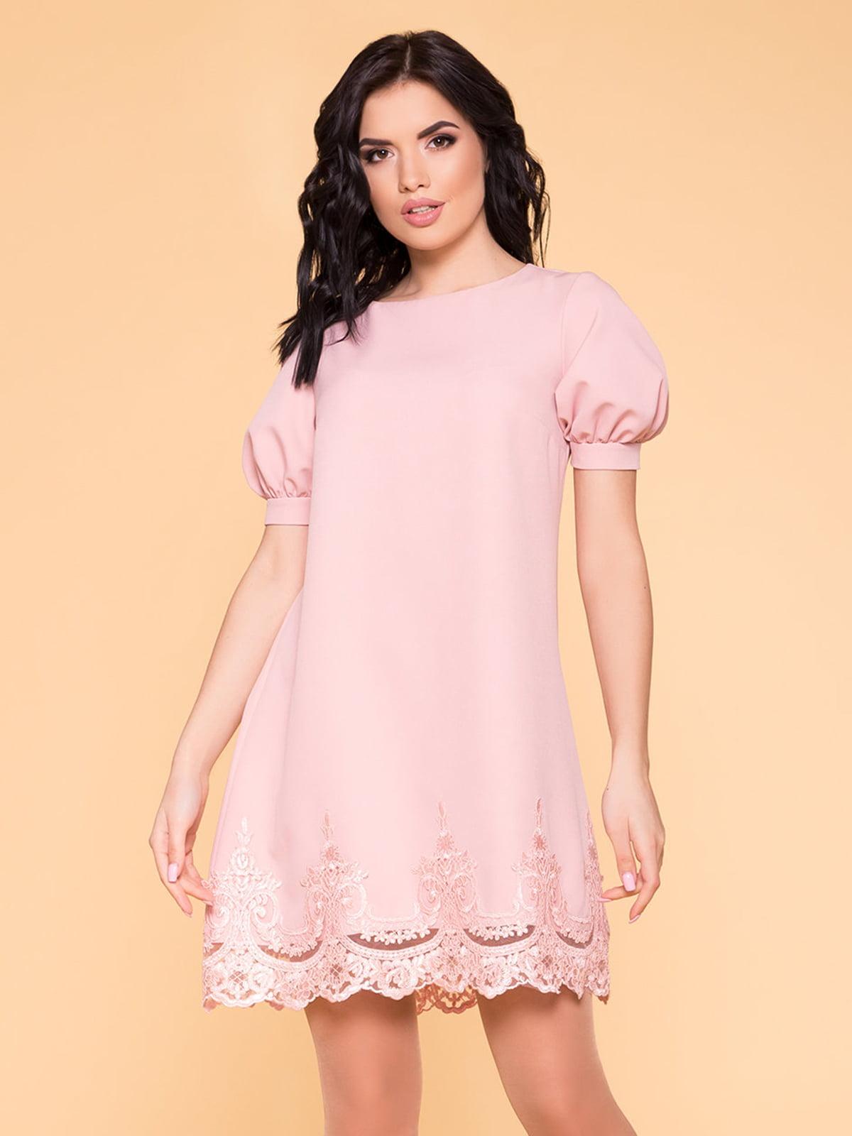 Сукня кольору пудри   4986509