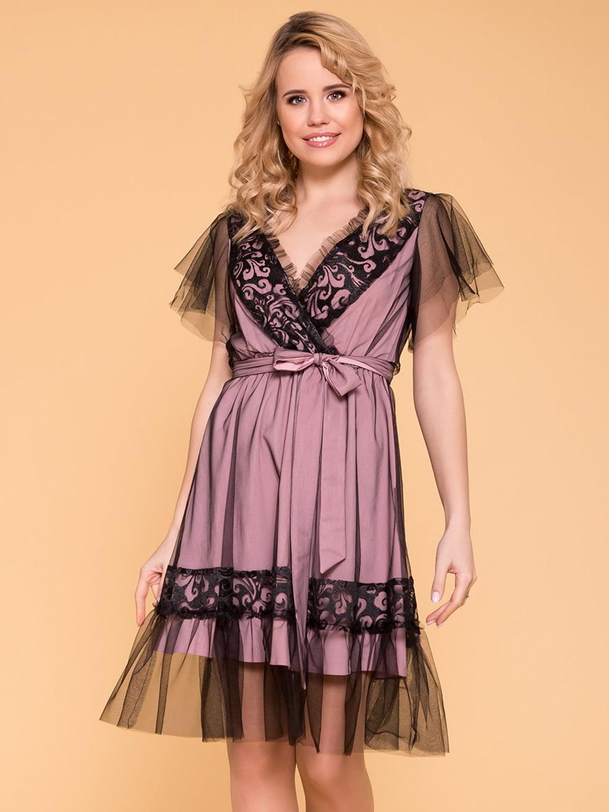 Сукня комбінованого забарвлення | 5039149