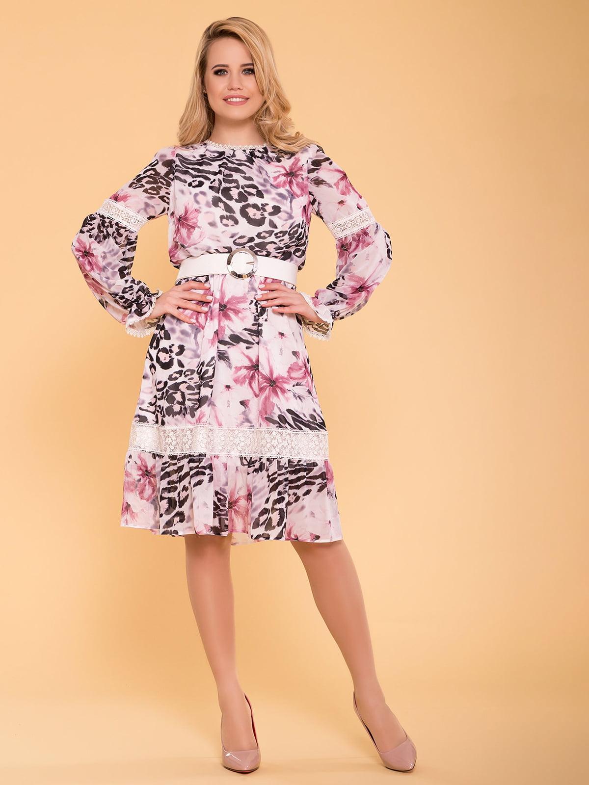 Сукня молочно-пудрового кольору | 5039156