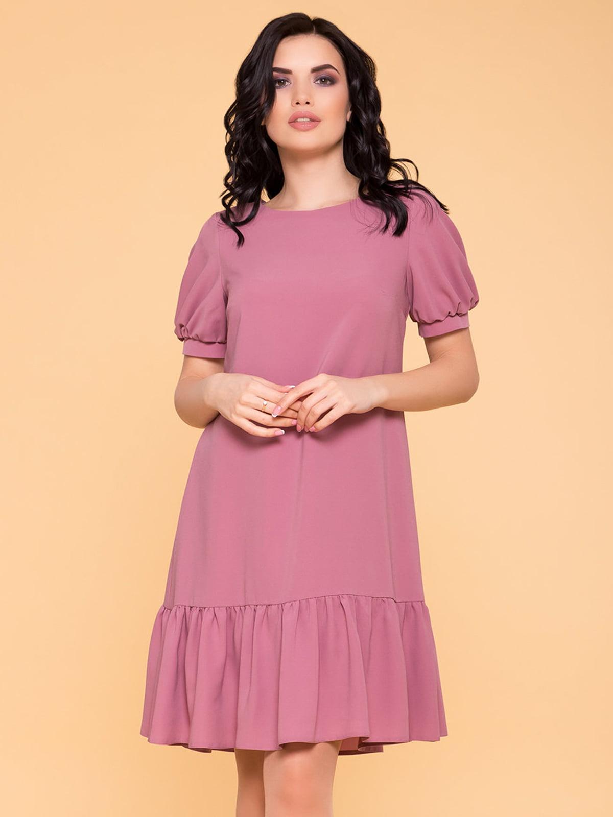 Сукня сіро-рожева   5094641