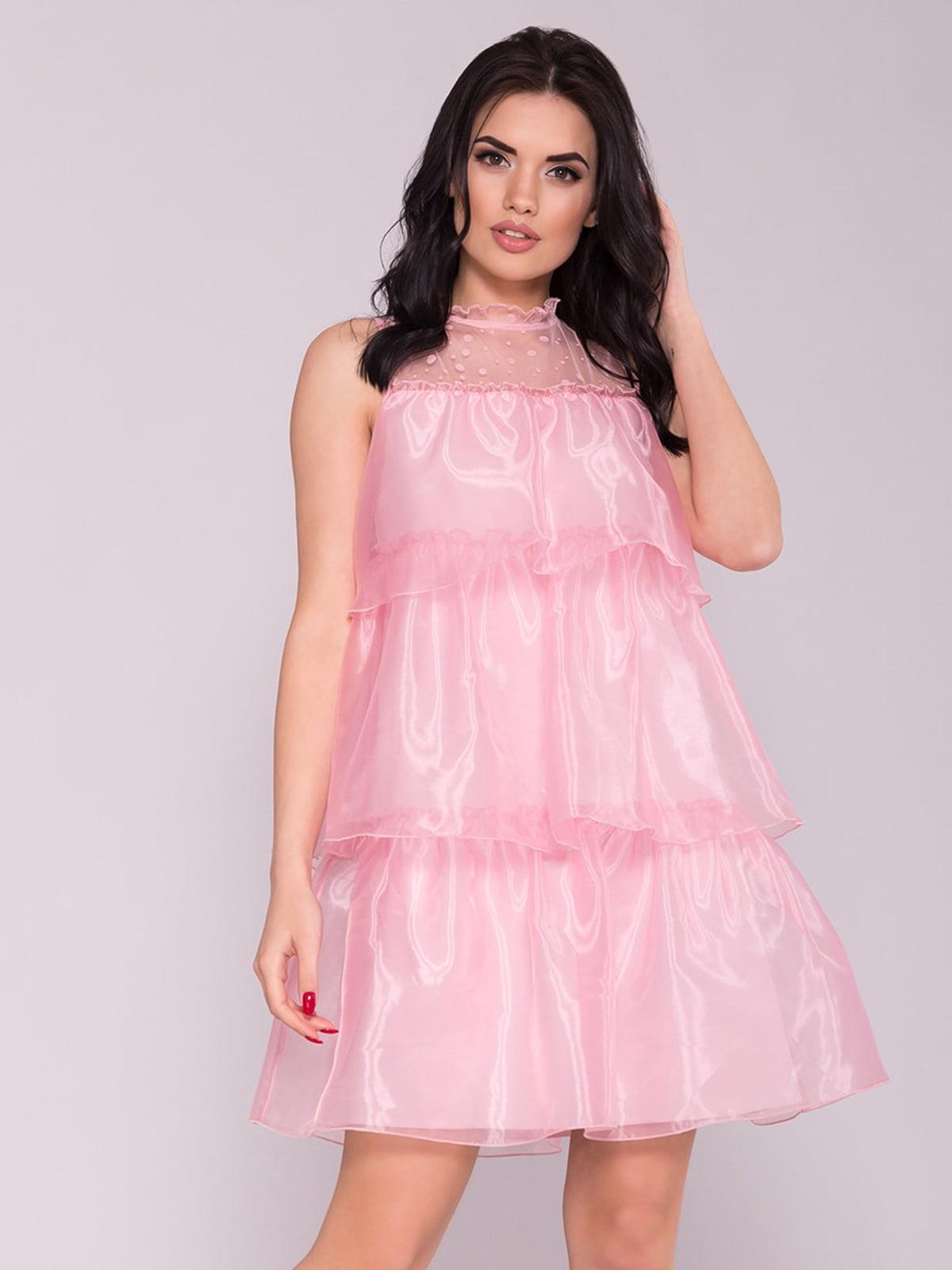 Сукня кольору пудри | 5094686