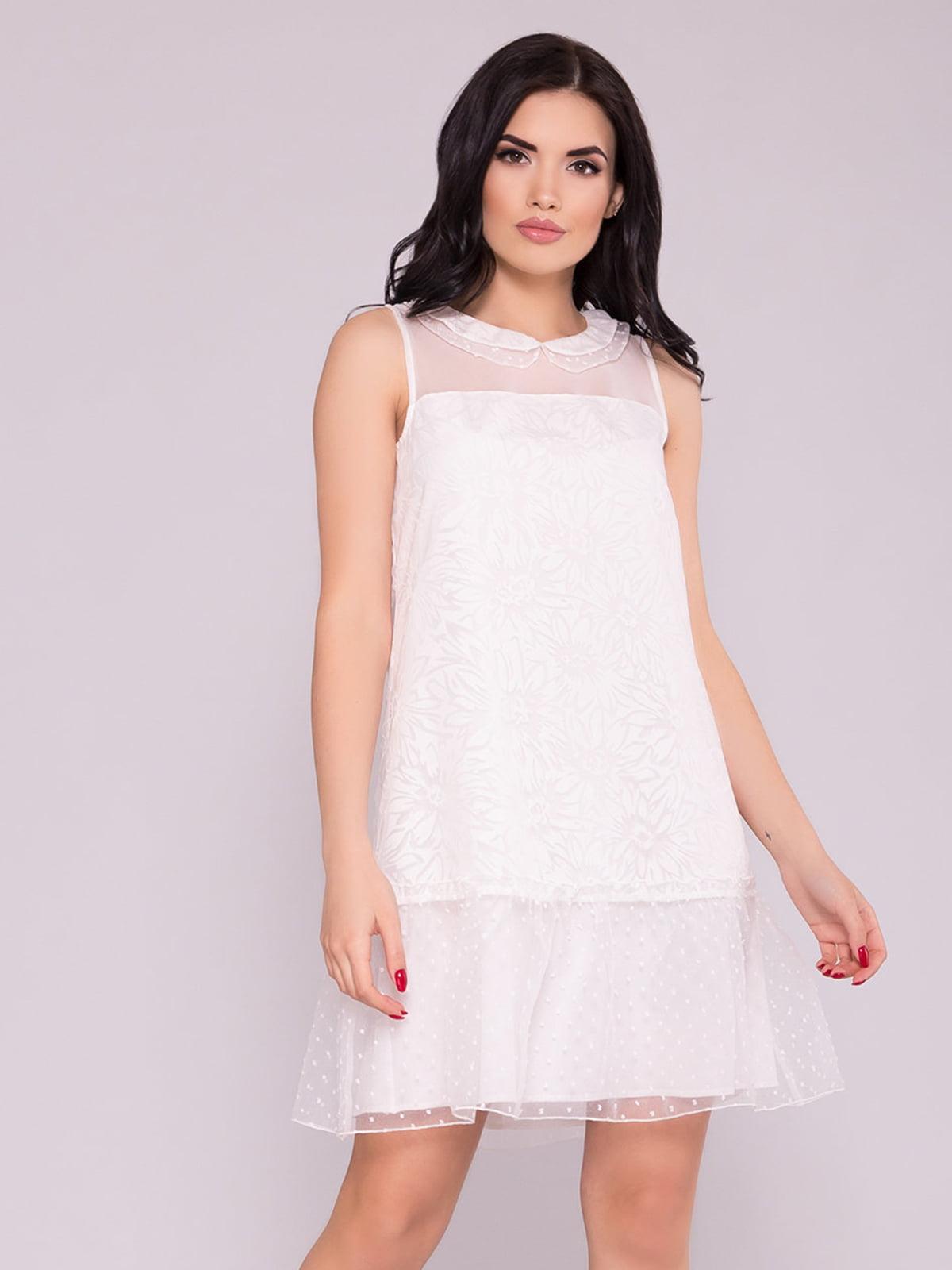 Сукня молочного кольору   5094689