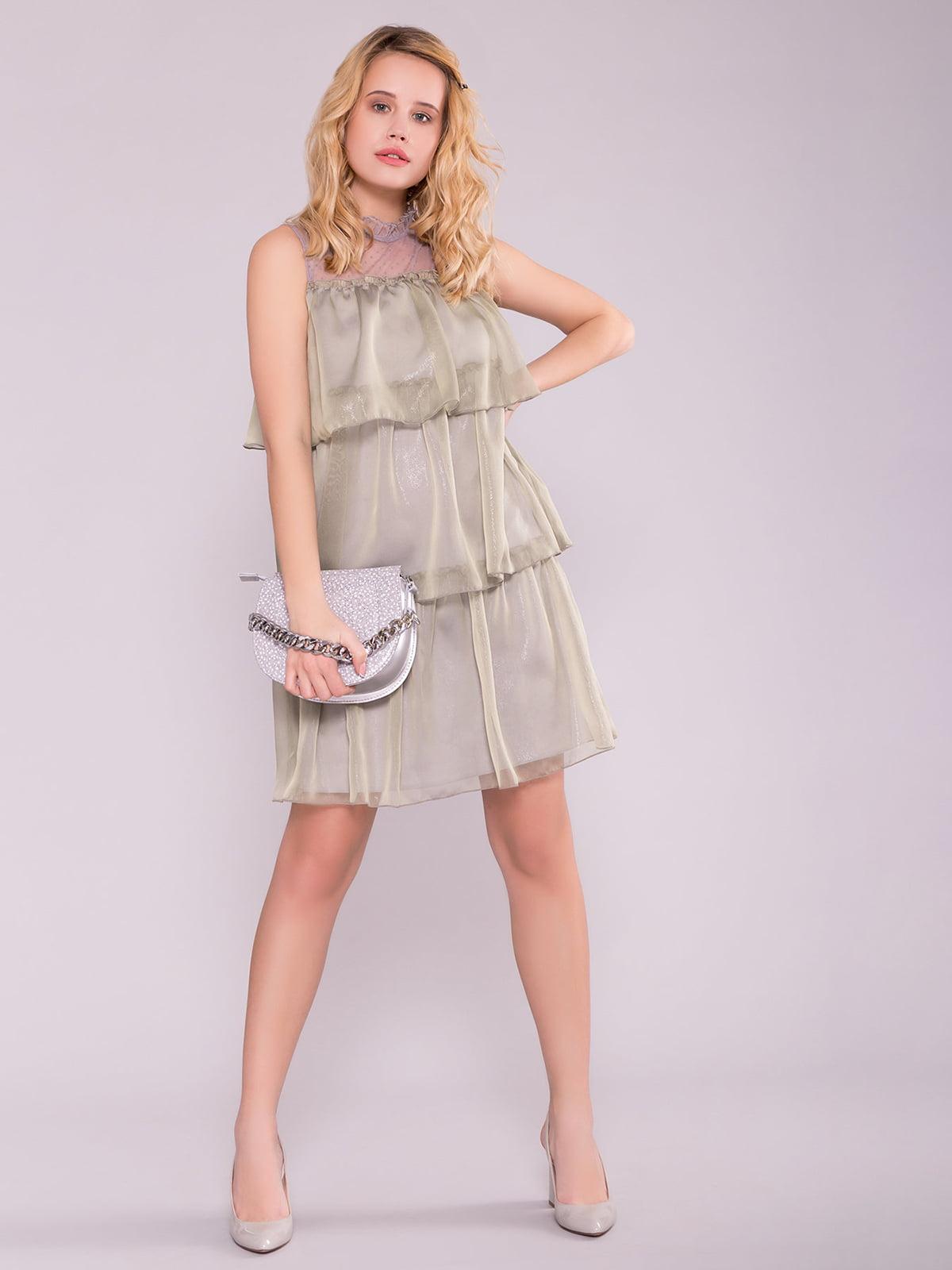 Сукня кольору хакі | 5094720
