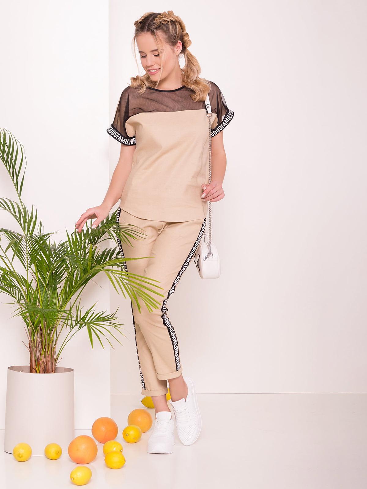 Костюм: блуза і брюки | 5123231