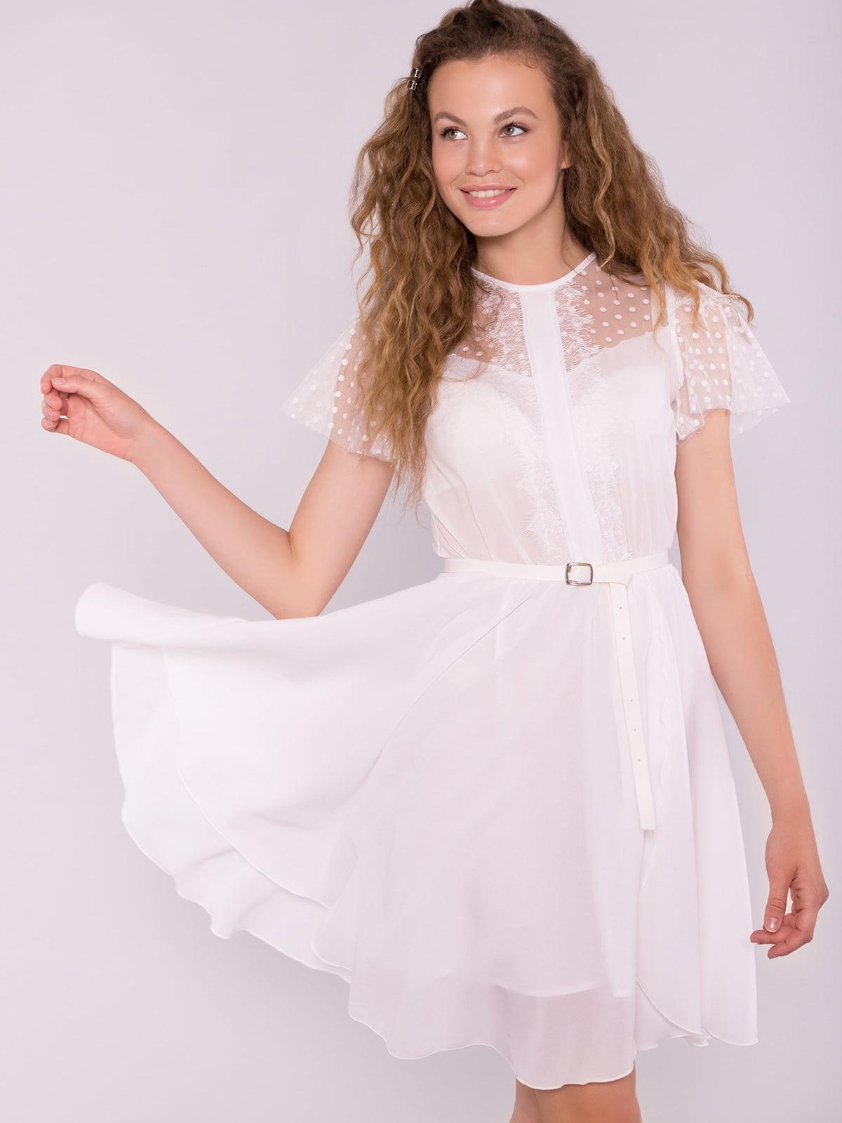 Сукня молочного кольору | 5125721