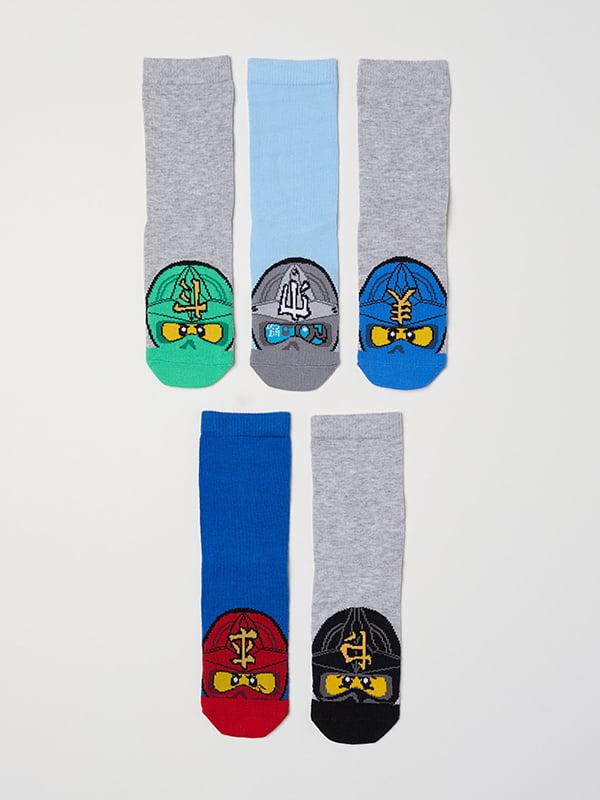 Комплект носков (5шт) | 5127126