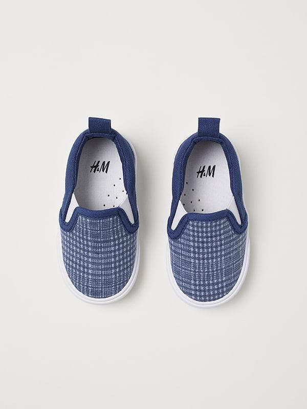 Слипоны синие | 5127141